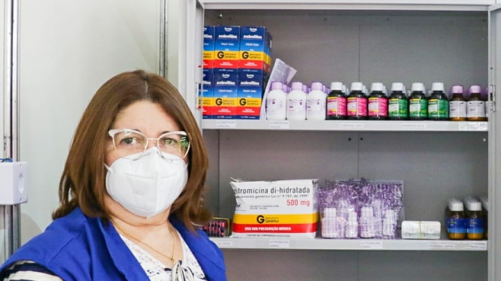 Coordenadora de Enfrentamento ao Covid-19 destaca funcionamento de Hospital de Campanha