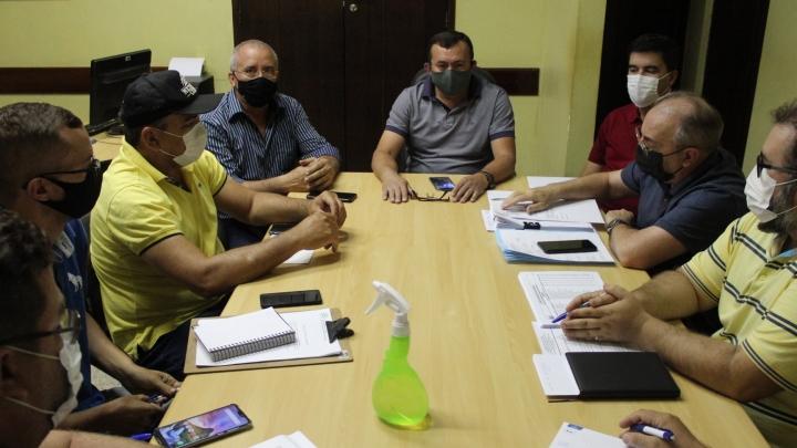 Reunião com o secretariado municipal pauta ações da nova gestão.