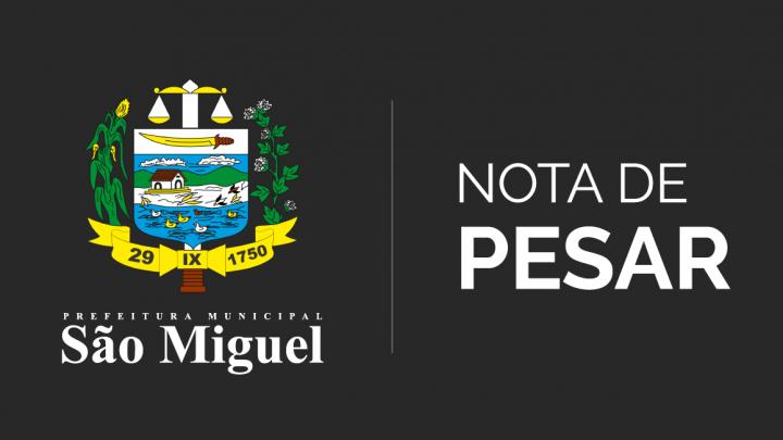 Prefeitura emite Nota de Pesar em virtude do falecimento da professora Fabiene Dantas