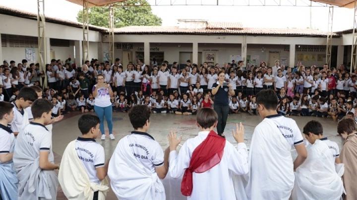 Elisiário Dias celebra páscoa com encenação da Santa Ceia