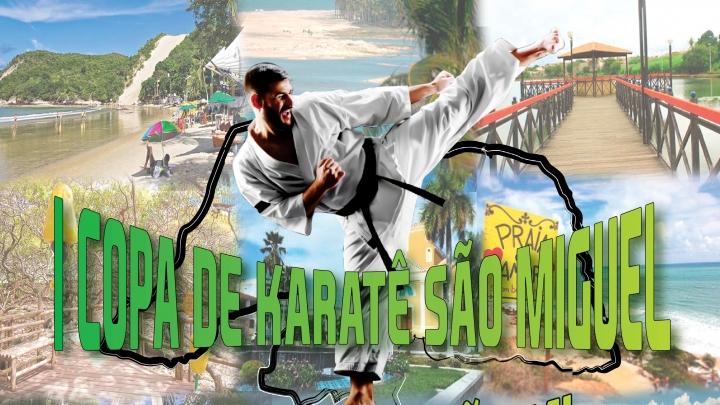 Prefeitura de São Miguel irá promover I Copa de Karatê em parceria com a FNKI