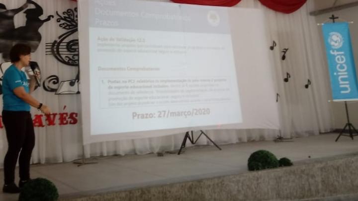 Município participa de Ciclo de Capacitação do Selo Unicef
