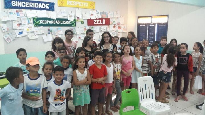 NASF e CRAS realizam atividade em alusão ao Dia Mundial do Autismo