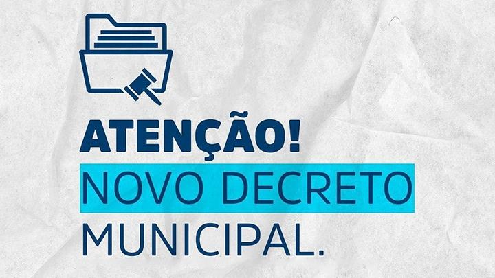Governo Municipal emite Decreto Nº 102/2021 que dispõe sobre o lockdown em todo o Município.