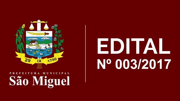 Resultado preliminar da seleção dos Estagiários -  Edital Nº 003/2017