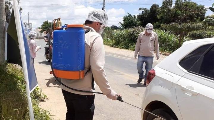 Prefeitura de São Miguel promove barreiras sanitárias para conter Covid-19