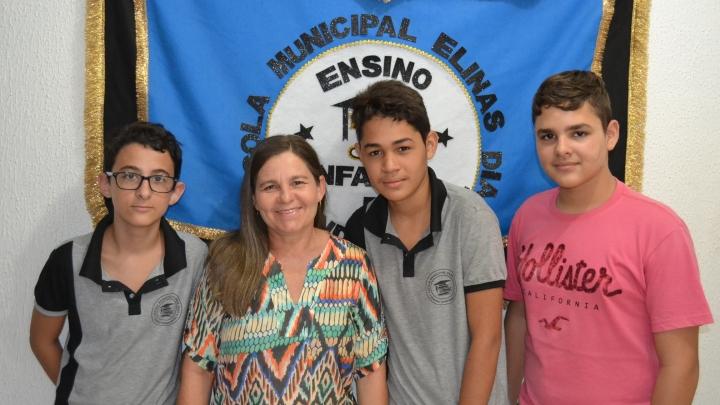 Alunos da Escola M. Elinas Dias são destaques na OBMEP e IFRN