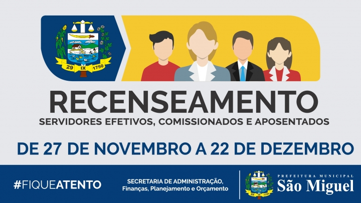Prefeitura Municipal convoca servidores municipais para o Censo 2017