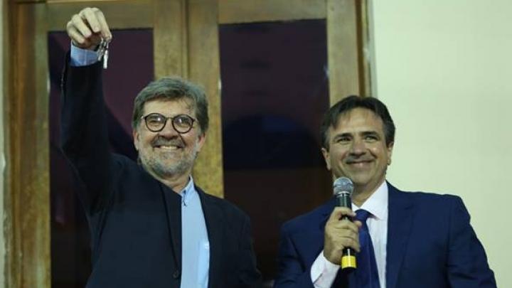 Gestão assume trabalhos para o quadriêncio 2017-2020