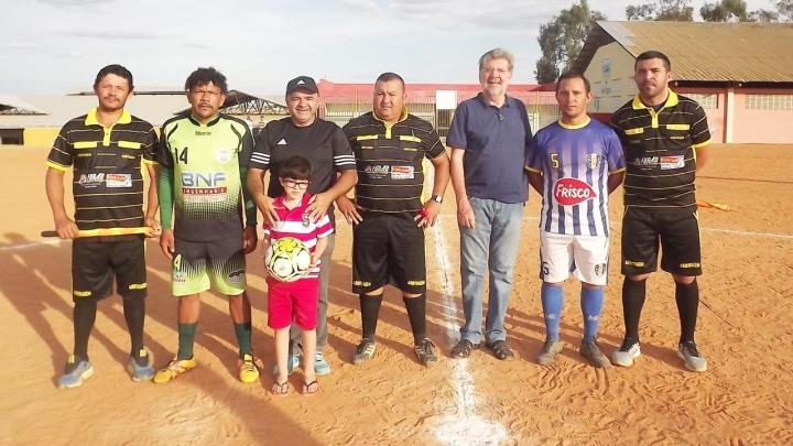 Aberto Campeonato Municipal de Futebol de Campo 2019