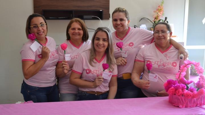 Outubro Rosa é culminado com ação de saúde e cidadania em São Miguel