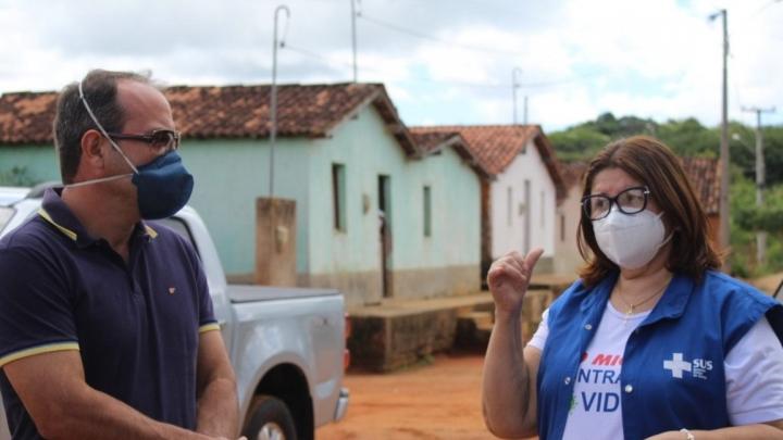 Equipe de Vigilância em Saúde reforça atuação na zona rural para prevenir Covid-19