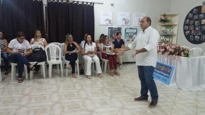 Secretaria de Educação promove abertura da Olimpíada de Língua Portuguesa