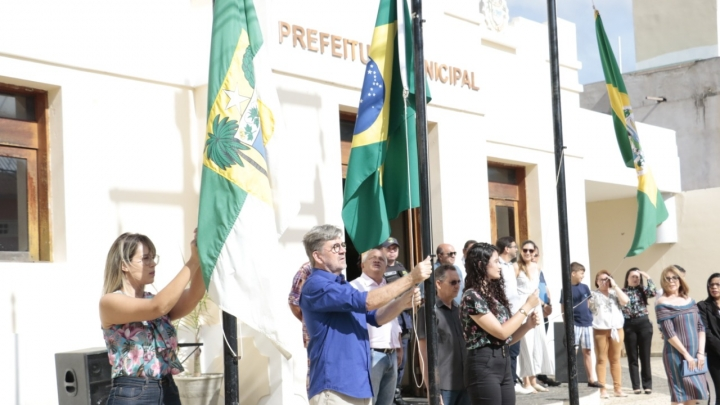 Município comemora 142 anos de emancipação política