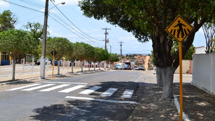 Detran recupera sinalização do trânsito municipal