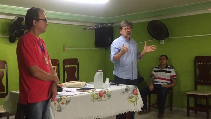 Prefeito Zé Gaudencio dialoga com Sindicato dos Trabalhadores Rurais