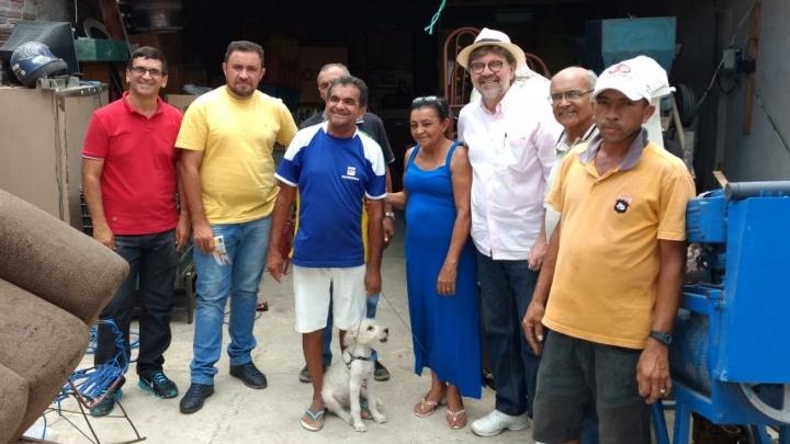Gestão Municipal visita Associação para implementação da Coleta Seletiva e Reciclagem